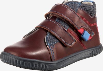 VERTBAUDET Lauflernschuhe in blau / braun / grau / rot, Produktansicht