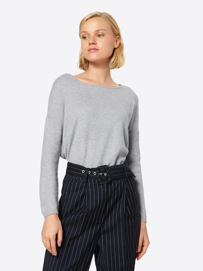 ONLY Pullover in hellgrau / graumeliert, Modelansicht