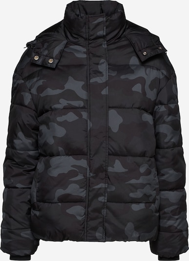 Urban Classics Curvy Winter jacket in grey / black, Item view