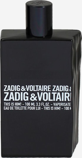 Zadig & Voltaire 'This is Him!' Eau de Toilette in schwarz / weiß, Produktansicht