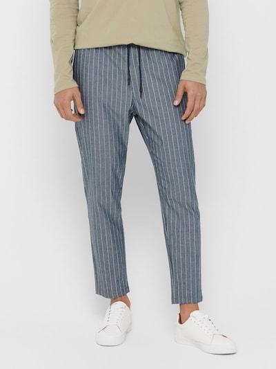 Pantaloni eleganți 'LINUS' Only & Sons pe albastru închis, Vizualizare model