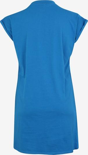 Urban Classics Curvy Robe 'Turtle' en bleu: Vue de dos