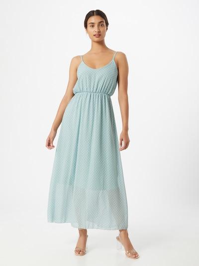 Hailys Kleid 'Sabrina' in mint / weiß: Frontalansicht