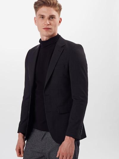 BURTON MENSWEAR LONDON Veste de costume en noir: Vue de face