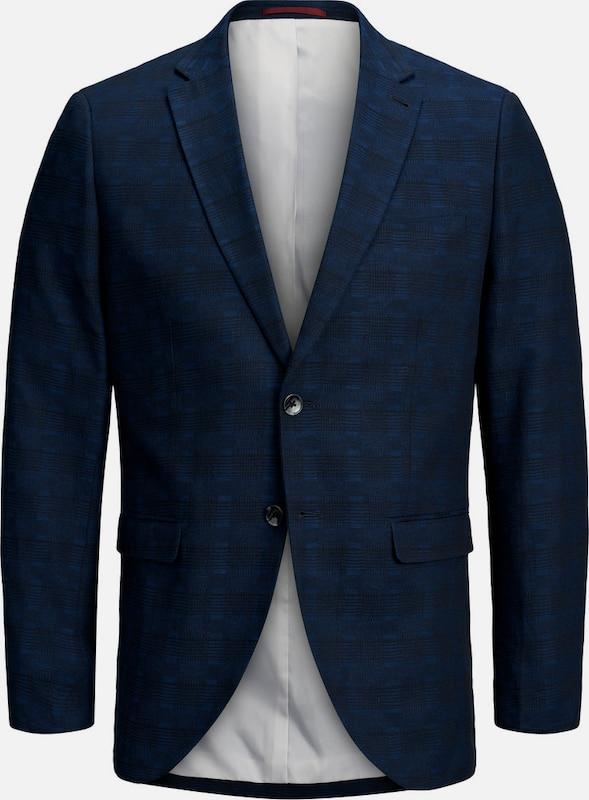 JACK & JONES Blazer in beige   blau   dunkelblau  Freizeit, schlank, schlank