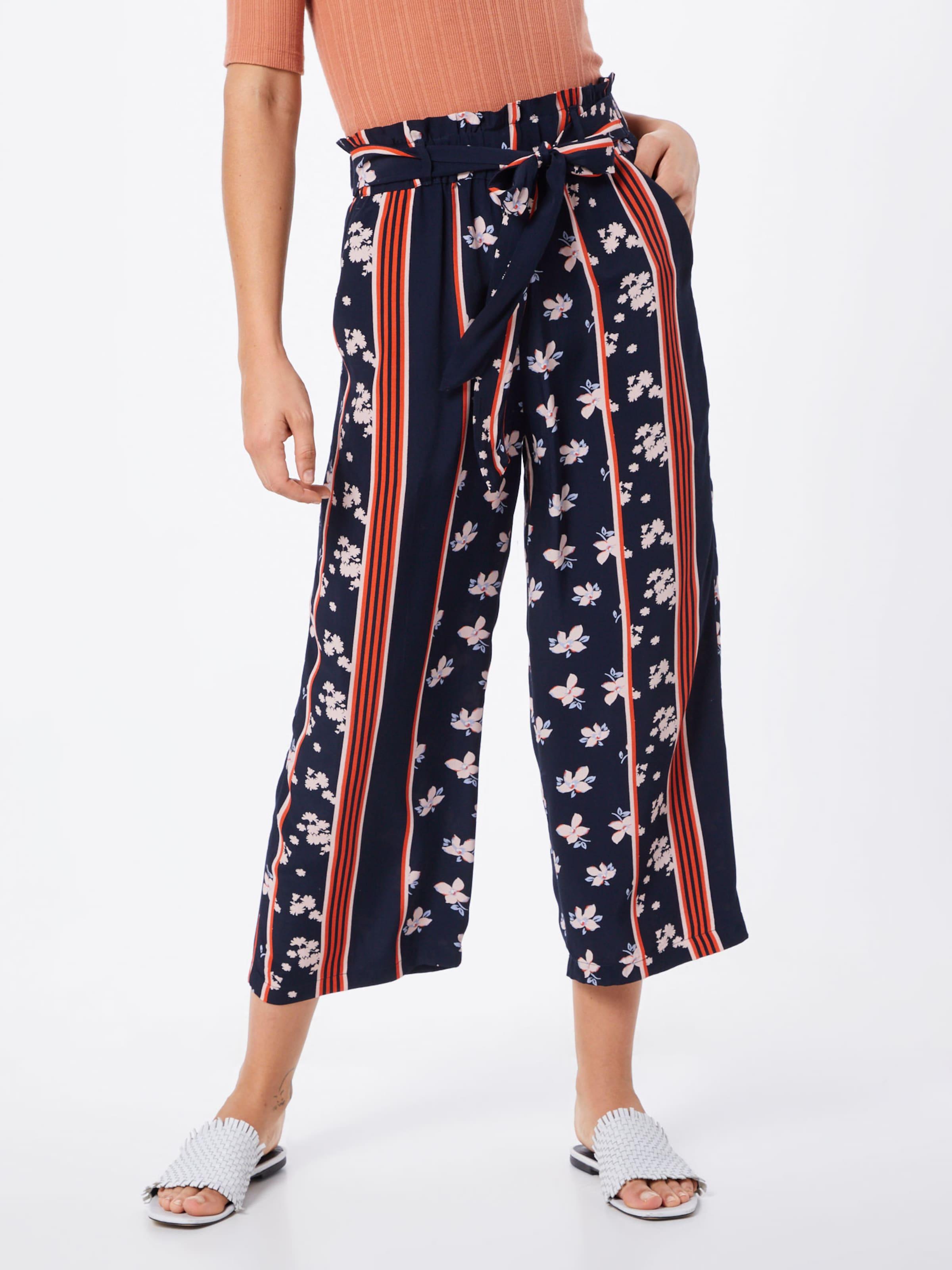 'flowing Culotte' Hose In Tom Tailor NavyWeinrot PTikOuXZ