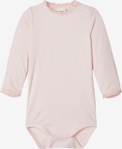 NAME IT Strampler 'NBFHAMBA LS BODY' in pink, Produktansicht