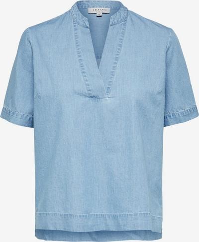 SELECTED FEMME Blouse in de kleur Blauw denim, Productweergave