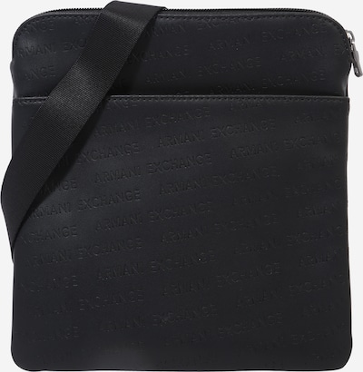ARMANI EXCHANGE Torba preko telesa | črna barva, Prikaz izdelka