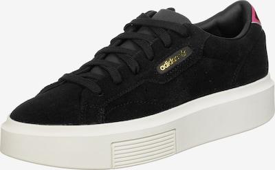 ADIDAS ORIGINALS Schuhe ' Sleek Super W ' in schwarz / weiß, Produktansicht