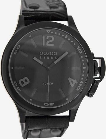 OOZOO Uhr 'OS332' in Schwarz
