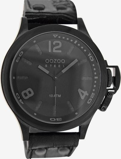 OOZOO Uhr 'OS332' in schwarz, Produktansicht