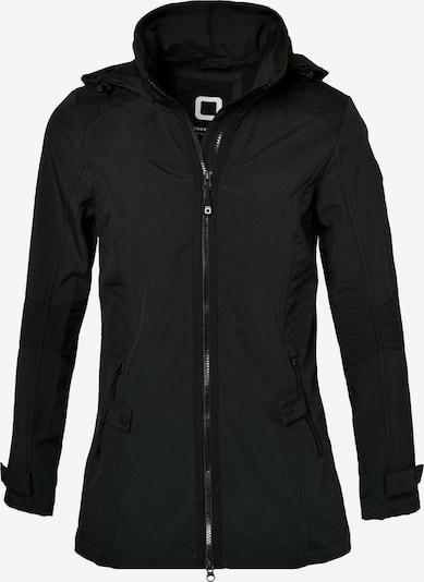 CODE-ZERO Tussenjas 'Jammer Softshell Jacke Women' in de kleur Zwart, Productweergave