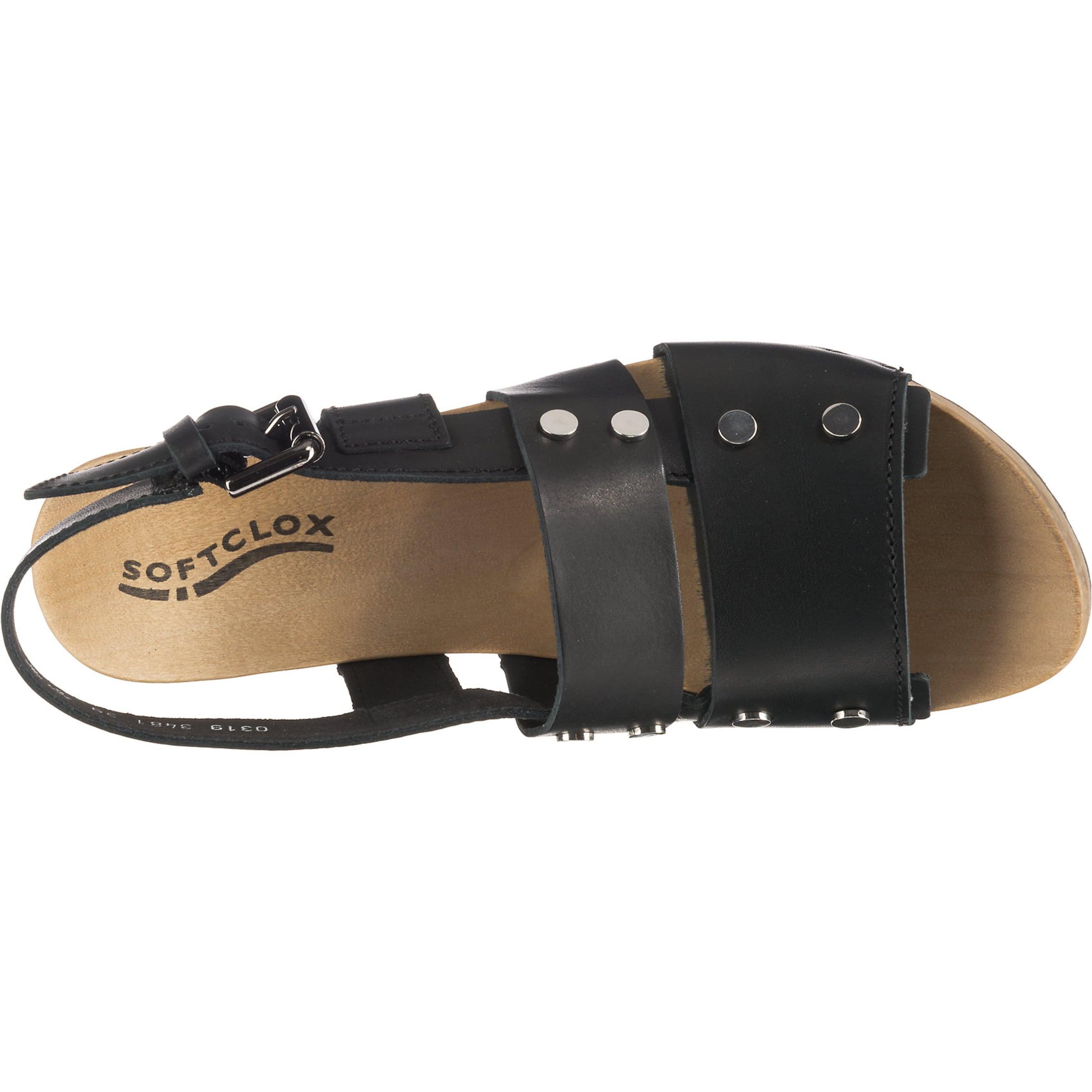 Softclox Sandaletten 'pamela' Softclox Schwarz In rBWdCeox