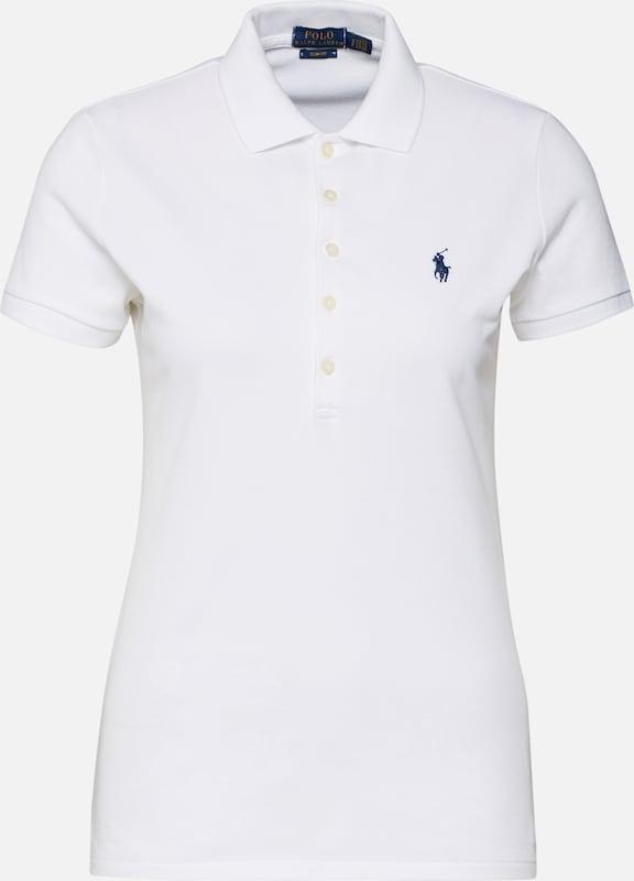 Ralph Lauren Shirt 'julie' In Wit Polo HIWD2E9