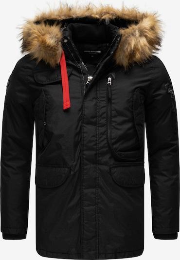 Redbridge Winterparka 'Montreal' in de kleur Zwart: Vooraanzicht