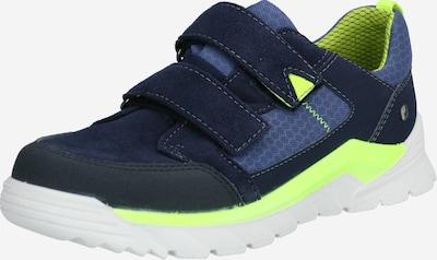 RICOSTA Low shoe 'Marv' in Dark blue / Neon yellow, Item view