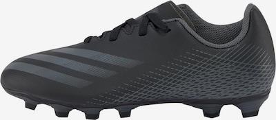 ADIDAS PERFORMANCE Fußballschuh 'Ghosted.4' in graphit / schwarz: Frontalansicht