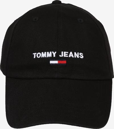 Șapcă Tommy Jeans pe negru, Vizualizare produs