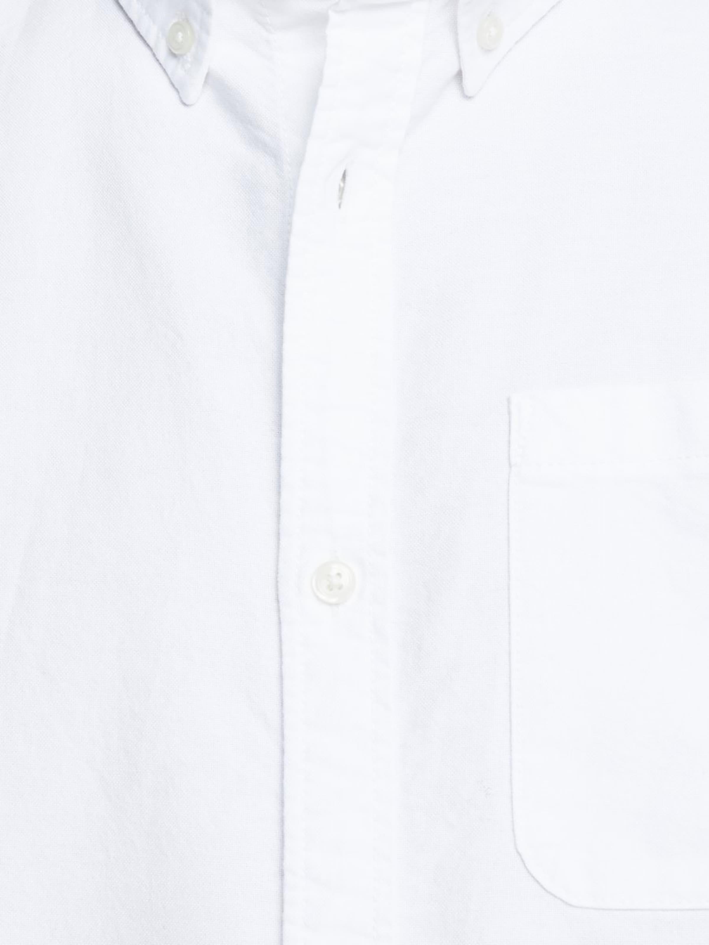 Jones Jackamp; 'oxford' Weiß In Hemd D2IEW9H