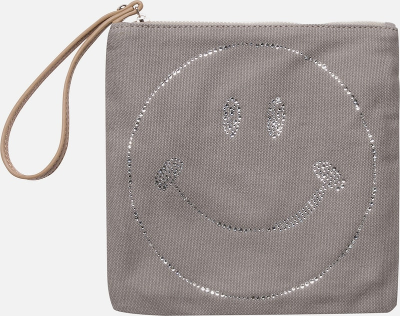 CODELLO Clutch mit Smiley-Motiv