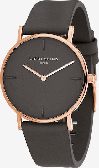 Liebeskind Berlin Analoog horloge in de kleur Rose-goud / Zwart, Productweergave