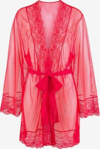 LASCANA Kimono, värv punane