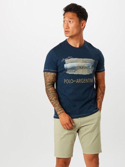 La Martina T-Shirt 'QUO' en bleu marine: Vue de face