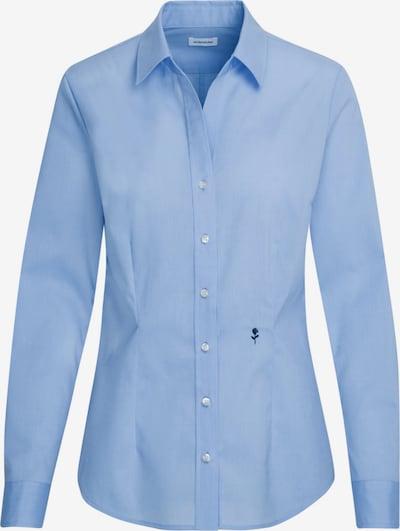 SEIDENSTICKER Bluse 'Schwarze Rose' in hellblau, Produktansicht