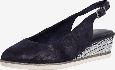 TAMARIS Cipele s potpeticom i otvorenom petom u tamno plava, Pregled proizvoda