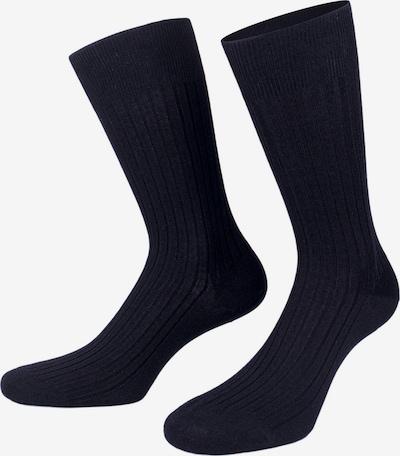 PATRON SOCKS Socken  'Cologne' in orangerot / schwarz, Produktansicht