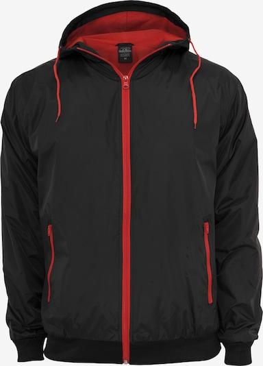 Urban Classics Prijelazna jakna u crvena / crna, Pregled proizvoda