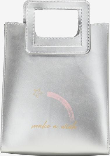 myMo at night Ručna torbica u srebro: Prednji pogled
