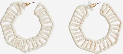 EDITED Ohrringe 'Vejle' in beige, Produktansicht
