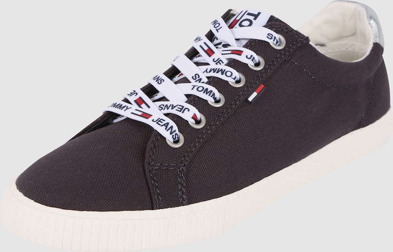 Tommy Jeans Sneaker in Canvas-Optik