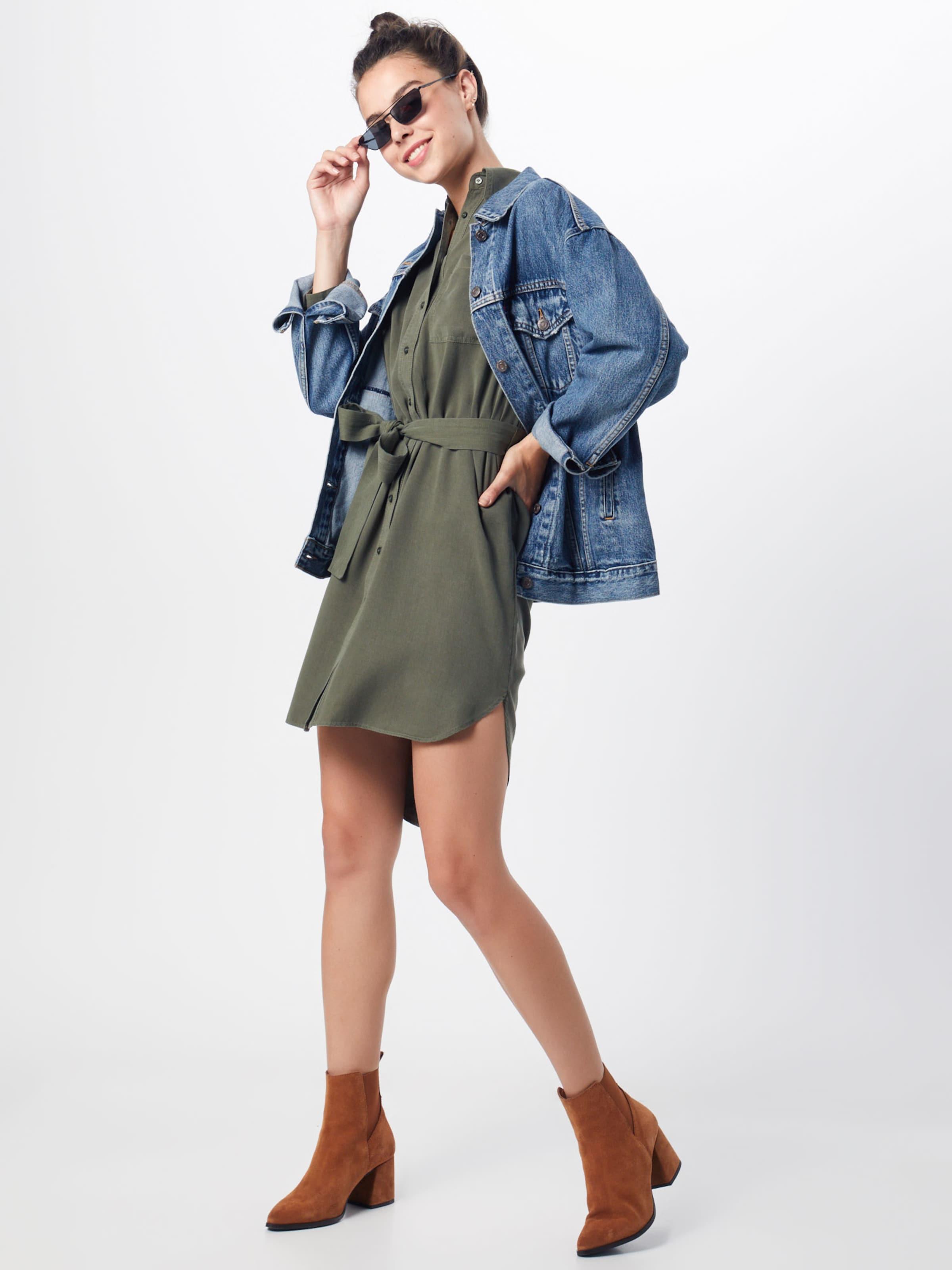 Kleid Jeans 'maru' Khaki In Pepe H9WEID2