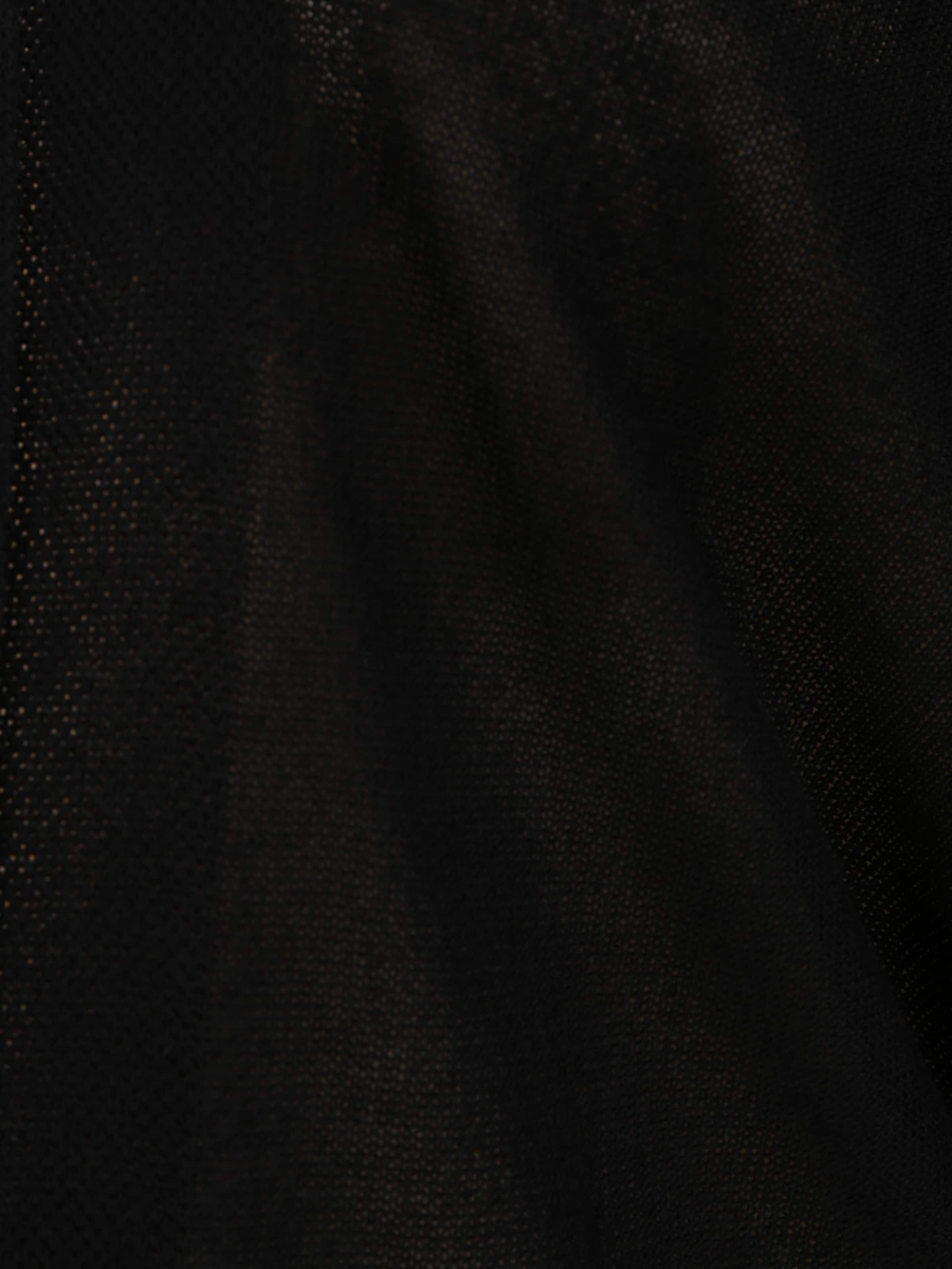 MY TRUE ME Kofta i svartmelerad
