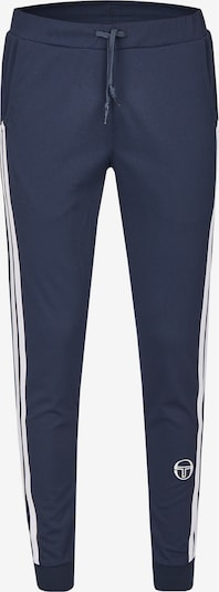 Sergio Tacchini Sportbroek 'Damarindo' in de kleur Nachtblauw / Wit, Productweergave