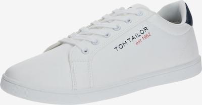 TOM TAILOR Sneakers laag in de kleur Donkerblauw / Wit, Productweergave