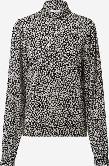 Fabienne Chapot Turtleneck Bluse  'Billy' in creme / schwarz, Produktansicht