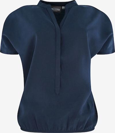 "mazine Blouse ' ""Benoni"" ' in dunkelblau, Produktansicht"