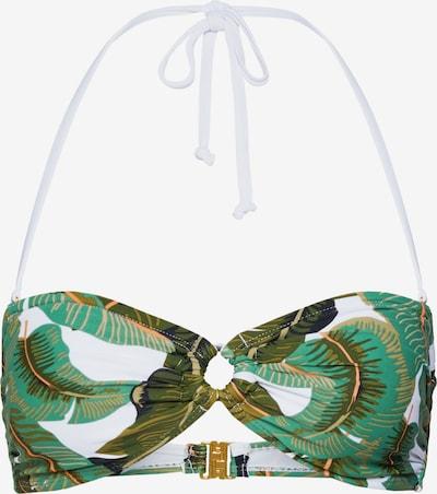 VERO MODA Bikinitop 'VMNATURE BIKINI BANDEAU' in de kleur Blauw, Productweergave