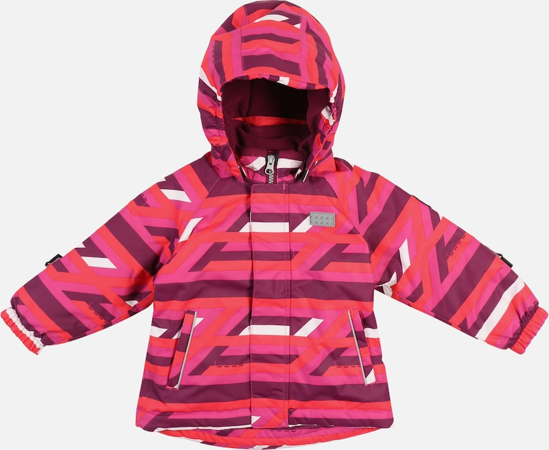 LEGO WEAR Winterjas 'JESSICA' in de kleur Pink / Bordeaux / Wit, Productweergave