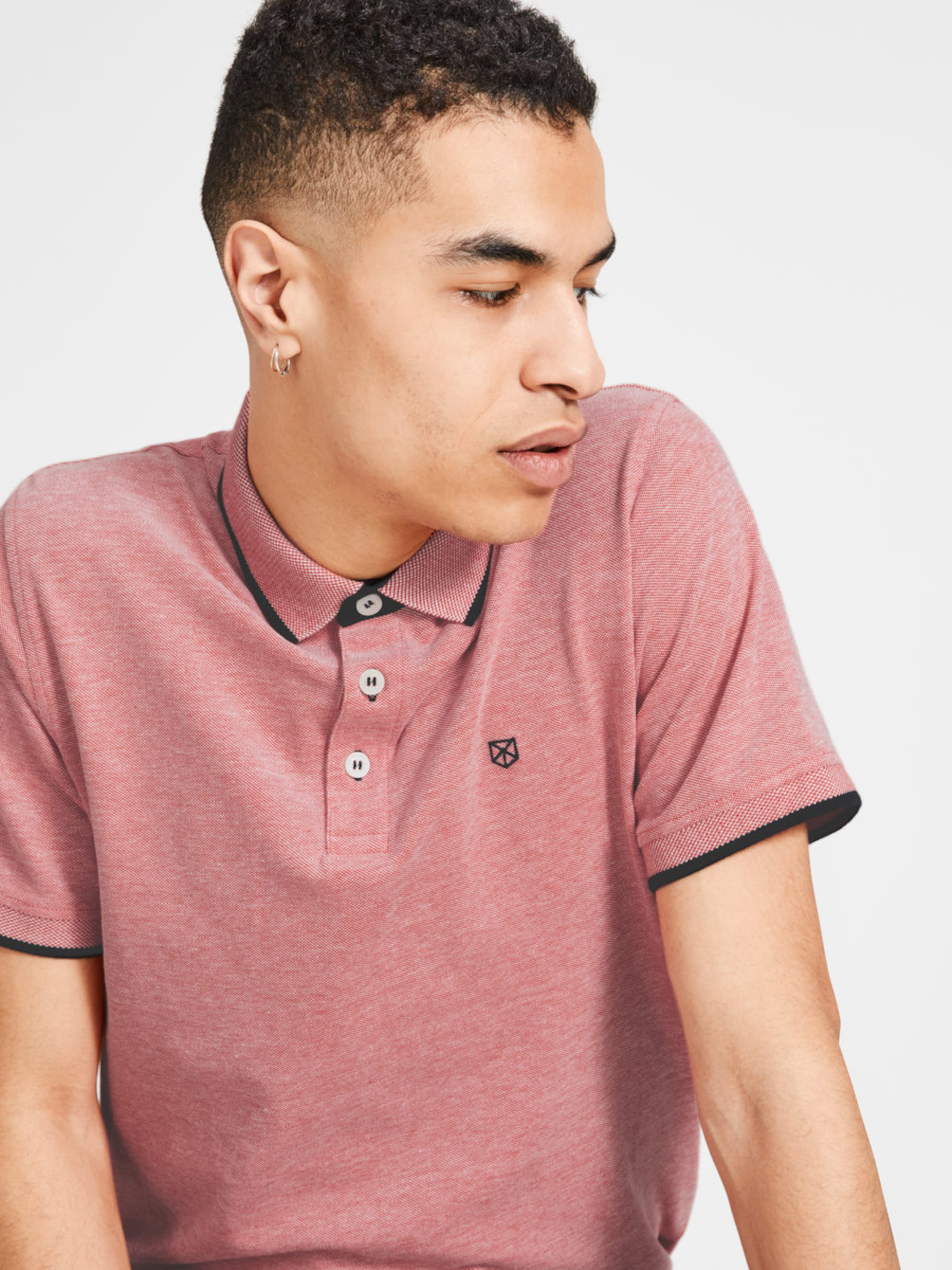 'jprpaulos shirt Noos' Jackamp; Ss En Rouge Jones T PastelNoir FlKuT35Jc1