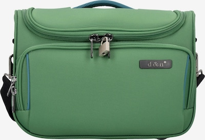 D&N Beautycase 'Travel Line 7900' (35 cm) in grün, Produktansicht