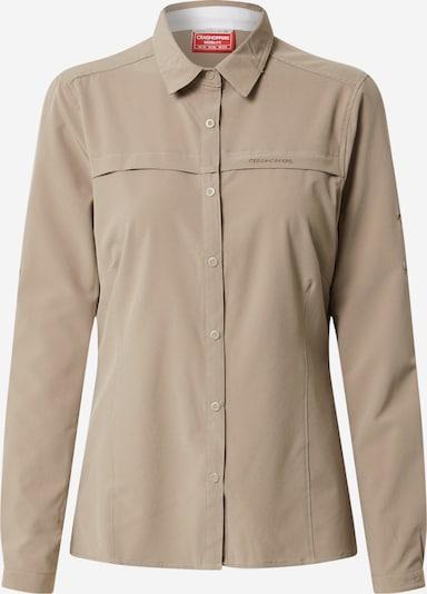 CRAGHOPPERS Bluzka funkcyjna w kolorze camelm, Podgląd produktu