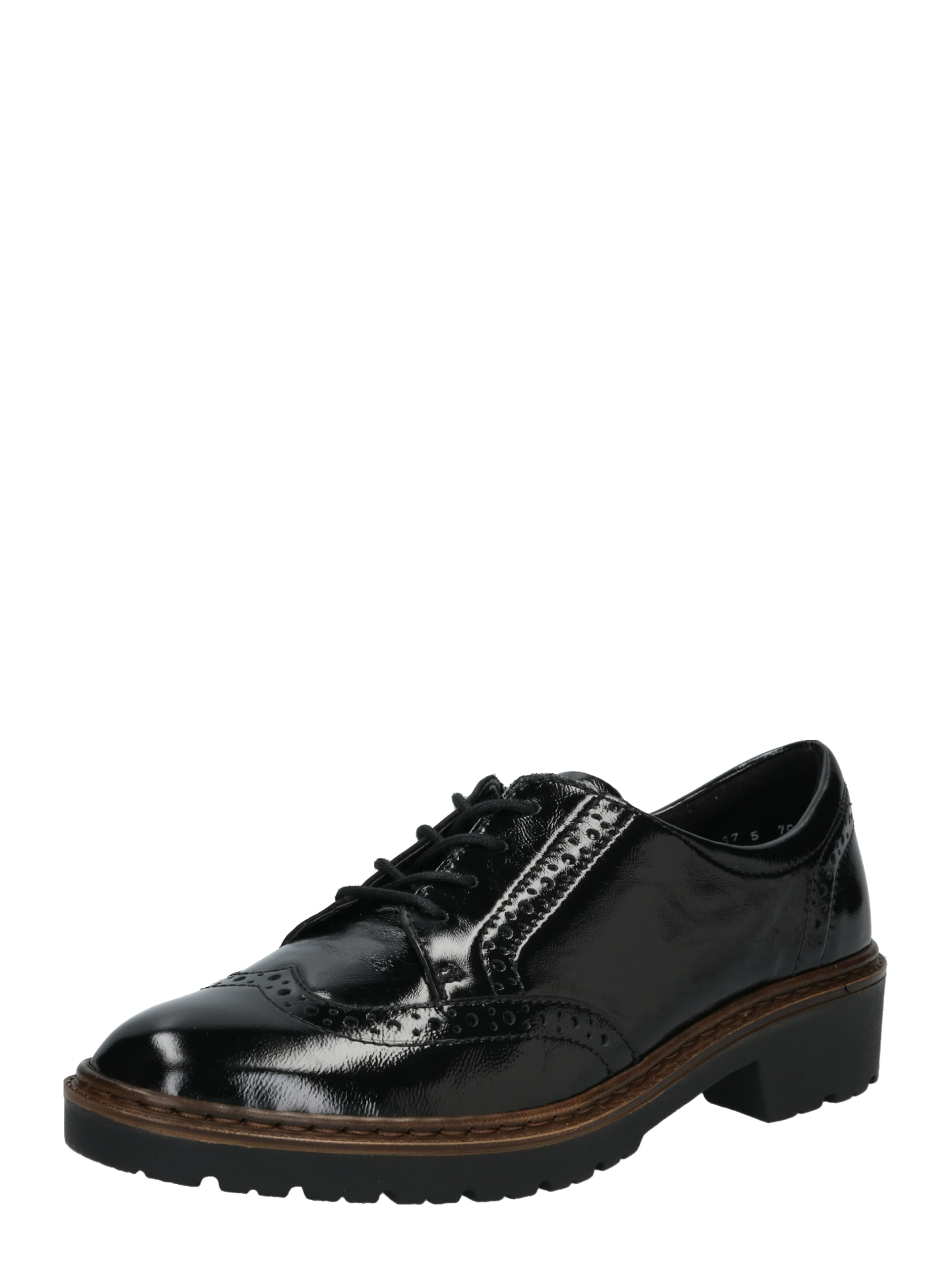 En 'richmond' Noir Lacets Chaussure À Ara Ajq3LcR54