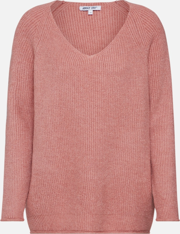 ABOUT YOU Pullover 'Laren Jumper' in rosa, Produktansicht