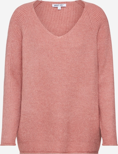 ABOUT YOU Pull-over 'Laren Jumper' en rose, Vue avec produit