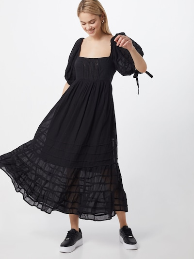 Free People Kleid 'Lets be Friends' in schwarz, Modelansicht